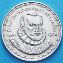 Португалия 1000 эскудо 1980 год. Луис де Камоэнс. Серебро