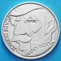 Португалия 500 эскудо 2000 год. Эса де Кейрош. Серебро.