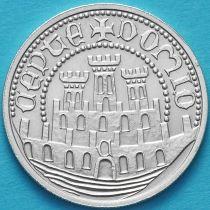 Португалия 500 эскудо 1983 год. Художественная выставка. Серебро.