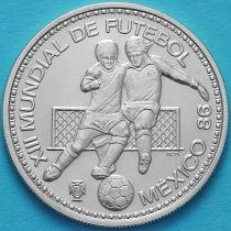 Португалия 100 эскудо 1986 год. ЧМ по футболу. Серебро.