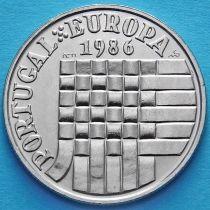Португалия 25 эскудо 1986 год. Присоединение Португалии к Европейскому Союзу.