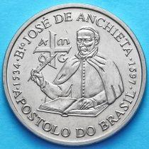 Португалия 200 эскудо 1997 год. Хосе де Анчьета