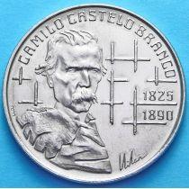 Португалия 100 эскудо 1990 год. Камилу Каштелу Бранку