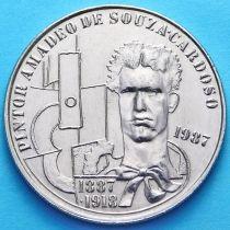 Португалия 100 эскудо 1987 год. Амадеу ди Соуза-Кардозу