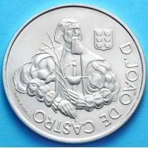 Португалия 1000 эскудо 2000 год. Жао де Кастро. Серебро