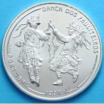 Португалия 1000 эскудо 1997 год. Танец Политейрош.