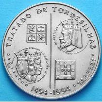 Португалия 200 эскудо 1994 год. Тордесильясский договор.