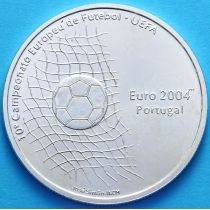 Португалия 1000 эскудо 2001 год. УЕФА 2004. Серебро