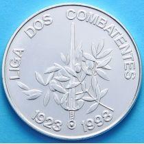 Португалия 1000 эскудо 1998 год. Лига бойцов. Серебро