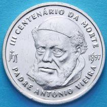 Португалия 500 эскудо 1997 год. Падре Антониу Виера. Серебро.