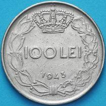 Румыния 100 лей 1943-1944 год.