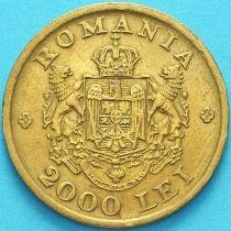 Румыния 2000 лей 1946 год.
