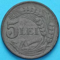 Румыния 5 лей 1942 год.