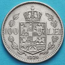 Румыния 100 лей 1936 год.