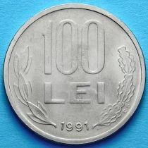 Румыния 100 лей 1991 год. Михай Храбрый.