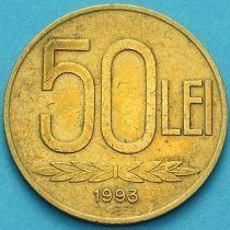 Румыния 50 лей 1993 год.