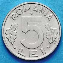 Румыния 5 лей 1992 год.