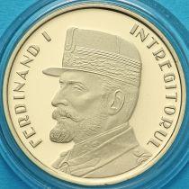 Румыния 50 бань 2019 год. Фердинанд I. Пруф.