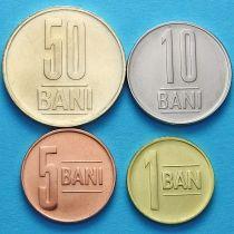 Румыния набор 4 монеты 2012-2013 год.