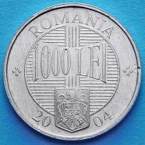 Румыния 1000 лей 2000-2004 год. Константин Брынковяну.