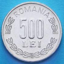 Румыния 500 лей 1999-2006 год.