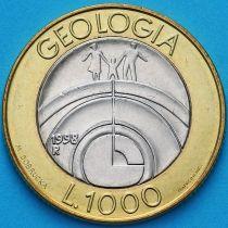 Сан Марино 1000 лир 1998 год. Геология.