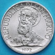 Сан Марино 1 лира 1972 год. Святой Мартин.