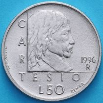 Сан Марино 50 лир 1996 год. Рене Декарт
