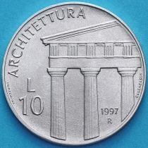 Сан Марино 10 лир 1997 год. Архитектура.