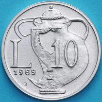 Сан Марино 10 лир 1989 год. Древняя керамика