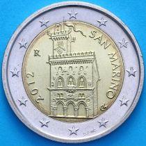Сан Марино 2 евро 2012 год.