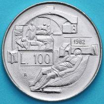 Сан Марино 100 лир 1982 год. Право гражданина на здоровье