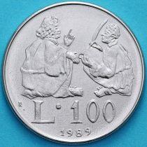 Сан Марино 100 лир 1989 год. Учитель и ученик