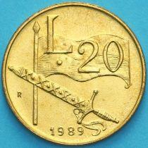 Сан Марино 20 лир 1989 год. Социальные завоевания