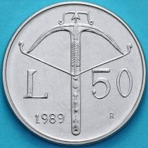 Сан Марино 50 лир 1989 год. Арбалет