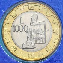 Сан Марино 1000 лир 1997 год. Буклет.