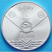Словакия 200 крон 1994 год. D день. Серебро.