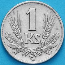 Словакия 1 крона 1940 год.