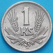 Словакия 1 крона 1945 год.