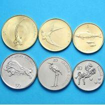 Словения набор 6 монет 2000 - 2006 год