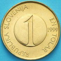 Словения 1 толар 1999 год. Форель.