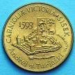 Монета Словении 5 толаров 1993 год. 400 лет битве при Сисаке.