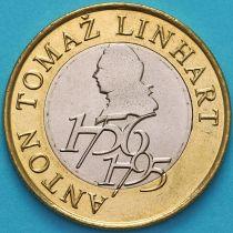 Словения 500 толаров 2006 год. Антон Томаж Линхарт.