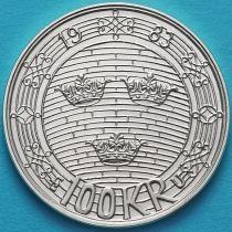 Швеция 100 крон 1983 год. Парламент. Серебро