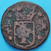 Швеция 1/4 эре 1633-1635 год.