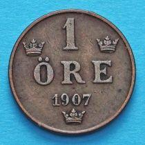 Швеция 1 эре 1907 год.