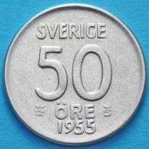 Швеция 50 эре 1954-1957 год.