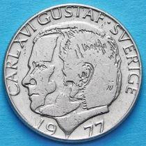 Швеция 1 крона 1977-1981 год.
