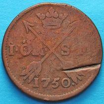 Швеция 1 эре 1750 год.