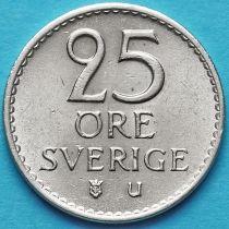 Швеция 25 эре 1966-1973 год.